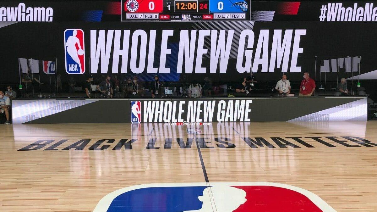 NBA restart fixtures live stream From Orlando