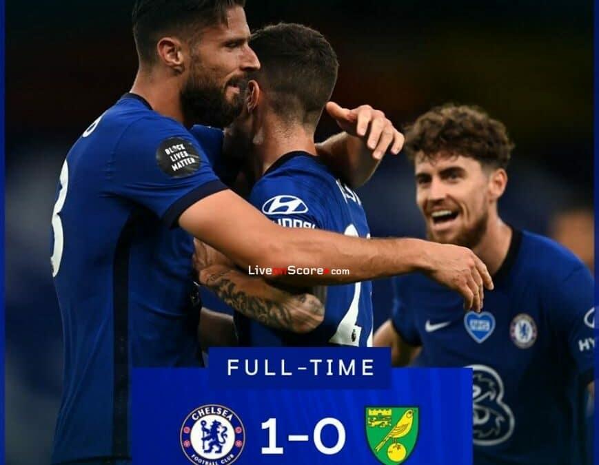 Chelsea 1-0 Norwich Full Highlight Video – Premier League
