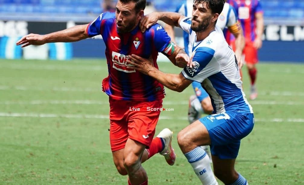 Espanyol 0-2 Eibar Goles y resultado - LaLiga Santander