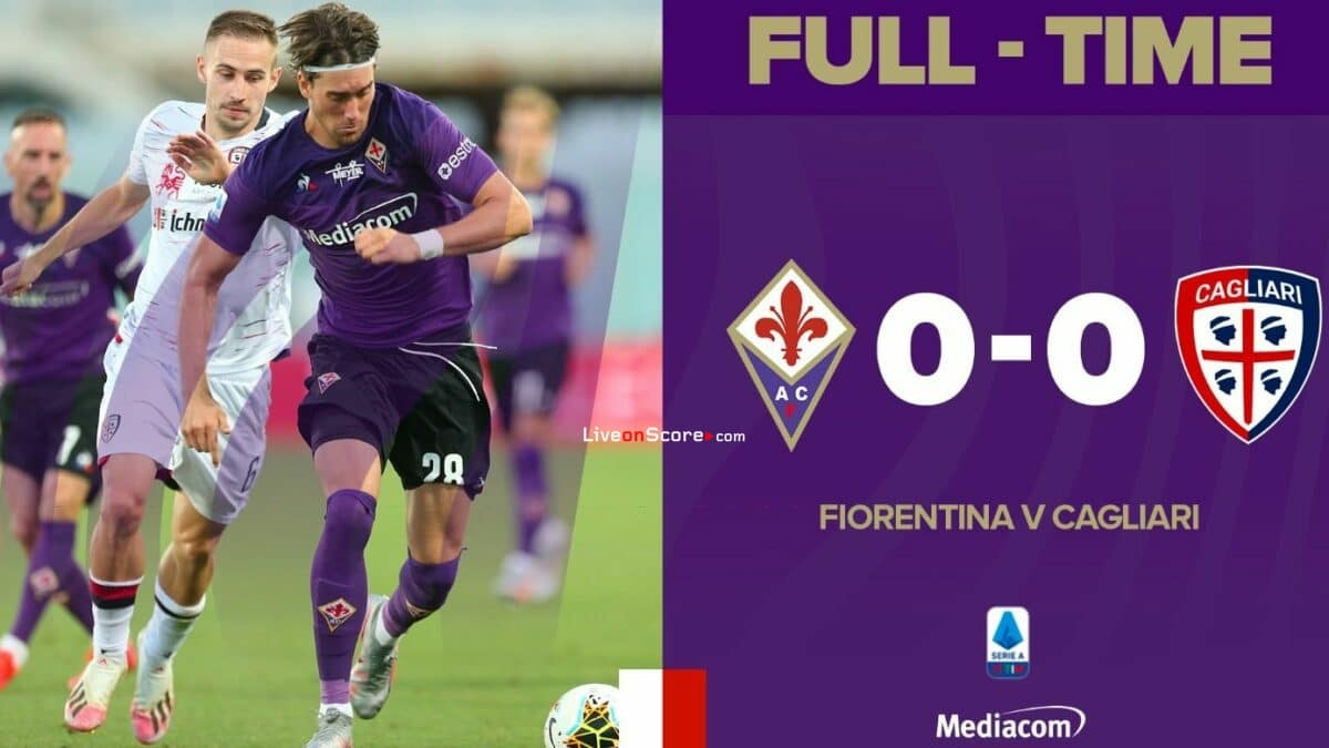 Fiorentina 0-0 Cagliari Full Highlight Video – Serie Tim A