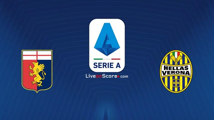 Genoa vs Verona Preview and Prediction Live stream Serie Tim A 2020