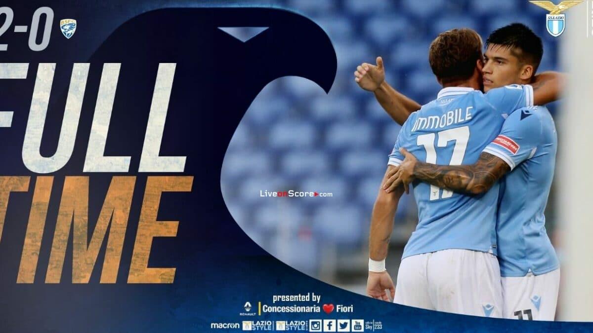 Lazio 2-0 Brescia Full Highlight Video – Serie Tim A
