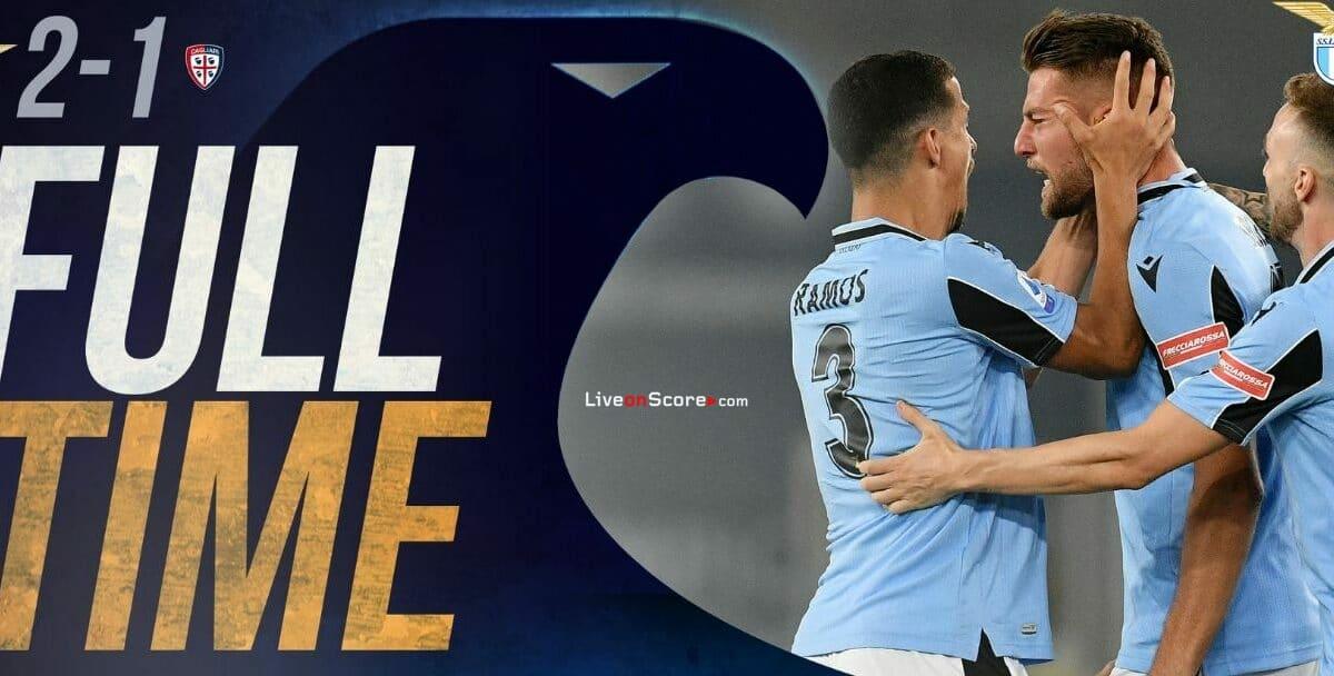 Lazio 2-1 Cagliari Full Highlight Video – Serie Tim A