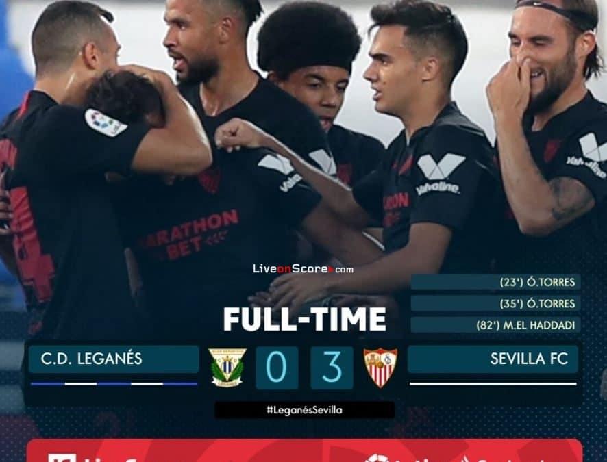 Leganes 0-3 Sevilla Full Highlight Video – LaLiga Santander
