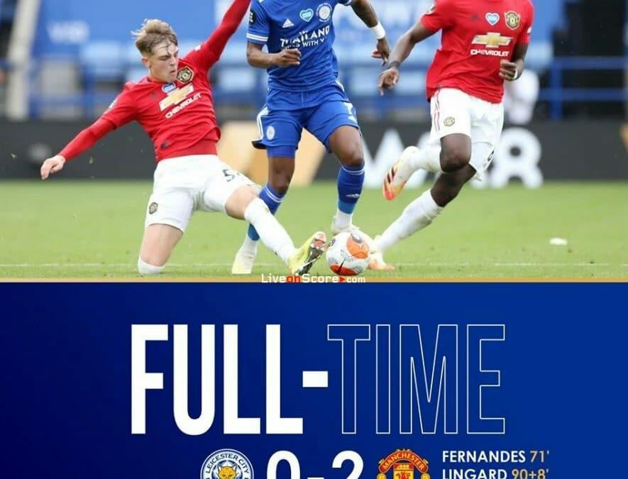 Leicester 0-2 Manchester Utd Full Highlight Video – Premier League
