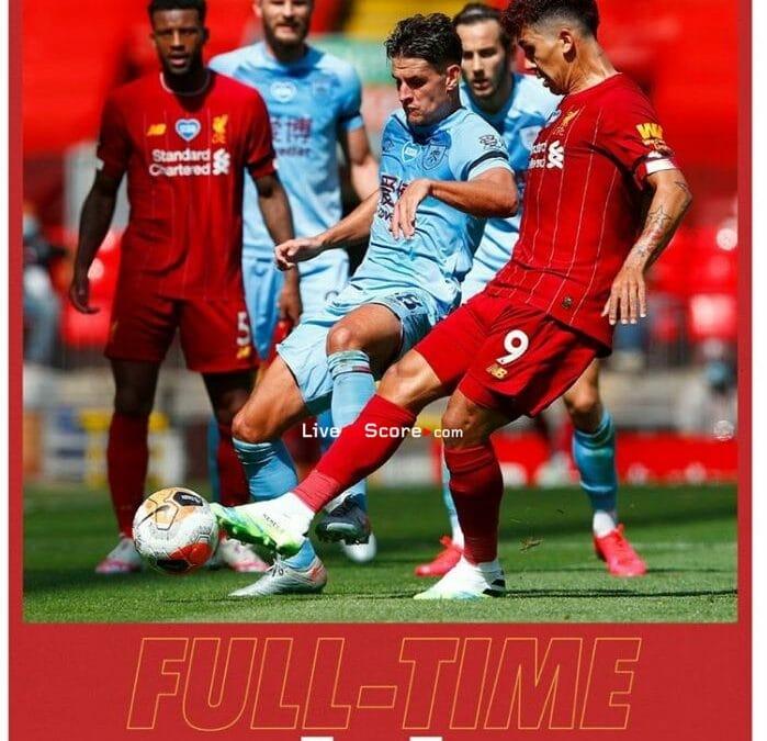 Liverpool 1-1 Burnley Full Highlight Video – Premier League