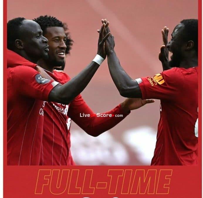 Liverpool 2-0 Aston Villa Full Highlight Video – Premier League