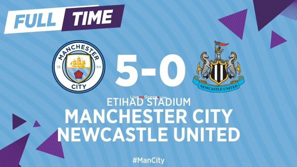 Manchester City 5-0 Newcastle Full Highlight Video – Premier League