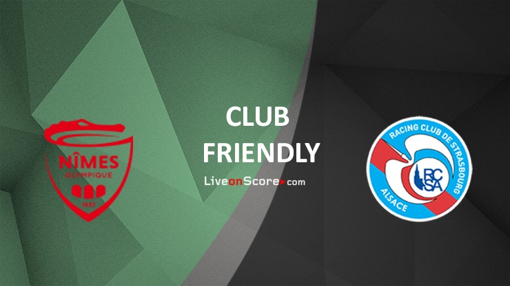 Nimes vs Strasbourg Preview and Prediction Live stream – Club Friendly 2020