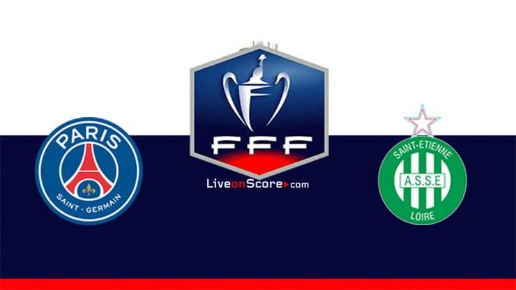 Paris SG vs St Etienne Preview and Prediction Live stream Coupe de France Final 2020
