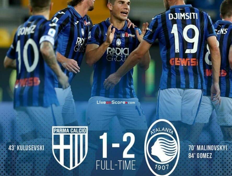 Parma 1-2 Atalanta Full Highlight Video – Serie Tim A