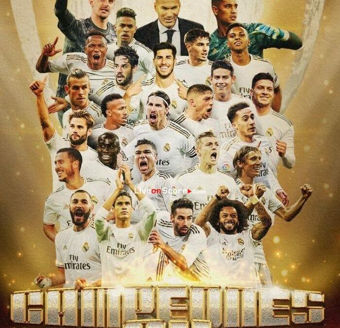 Real Madrid 2-1 Villarreal Goles y resultado - LaLiga Santander