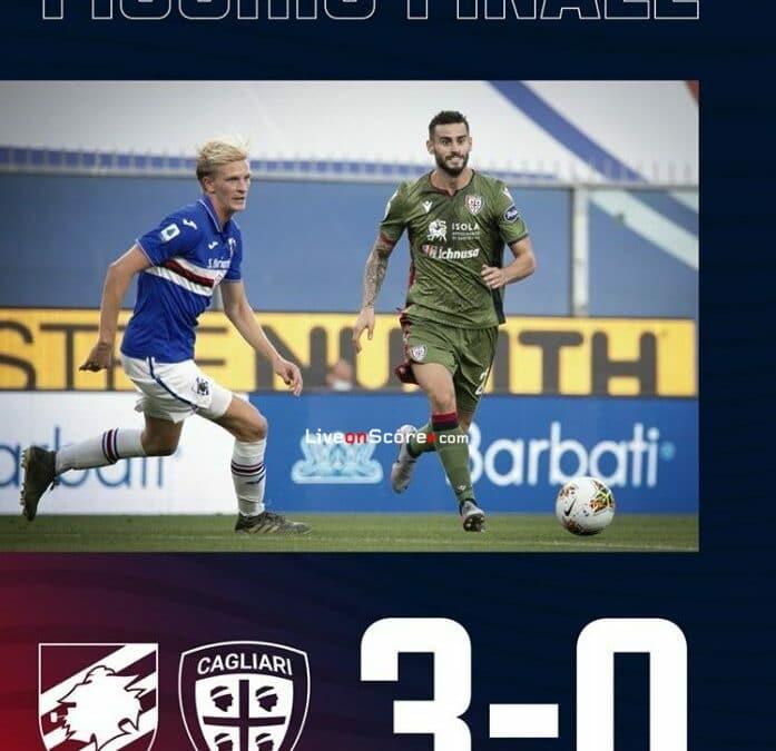 Sampdoria 3-0 Cagliari Full Highlight Video – Serie Tim A