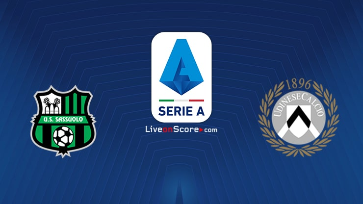 Sassuolo vs Udinese Preview and Prediction Live stream Serie Tim A 2020