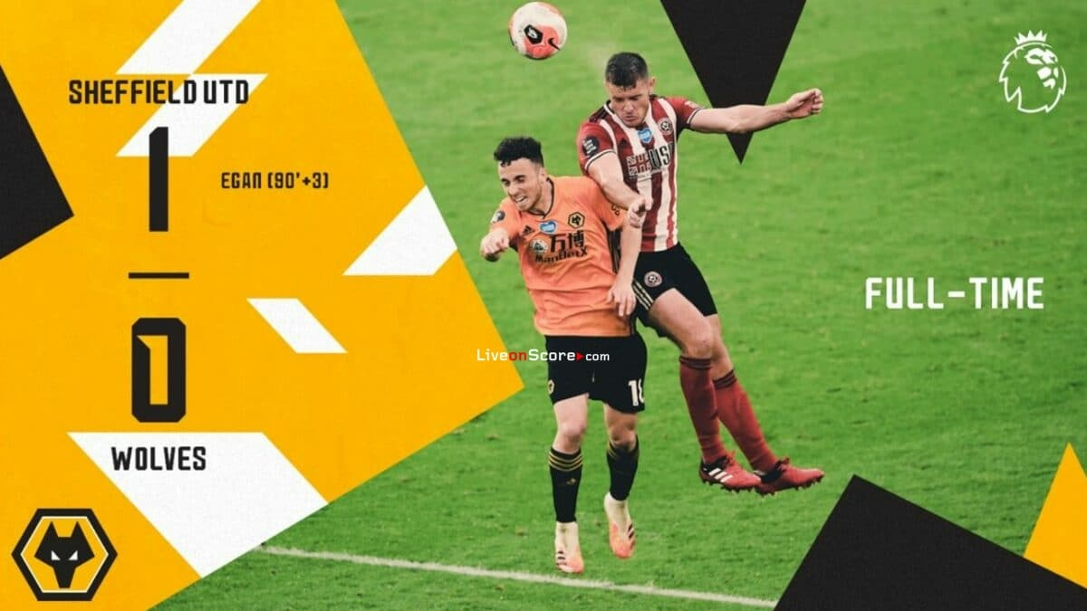 Sheffield Utd 1-0 Wolves Full Highlight Video – Premier League