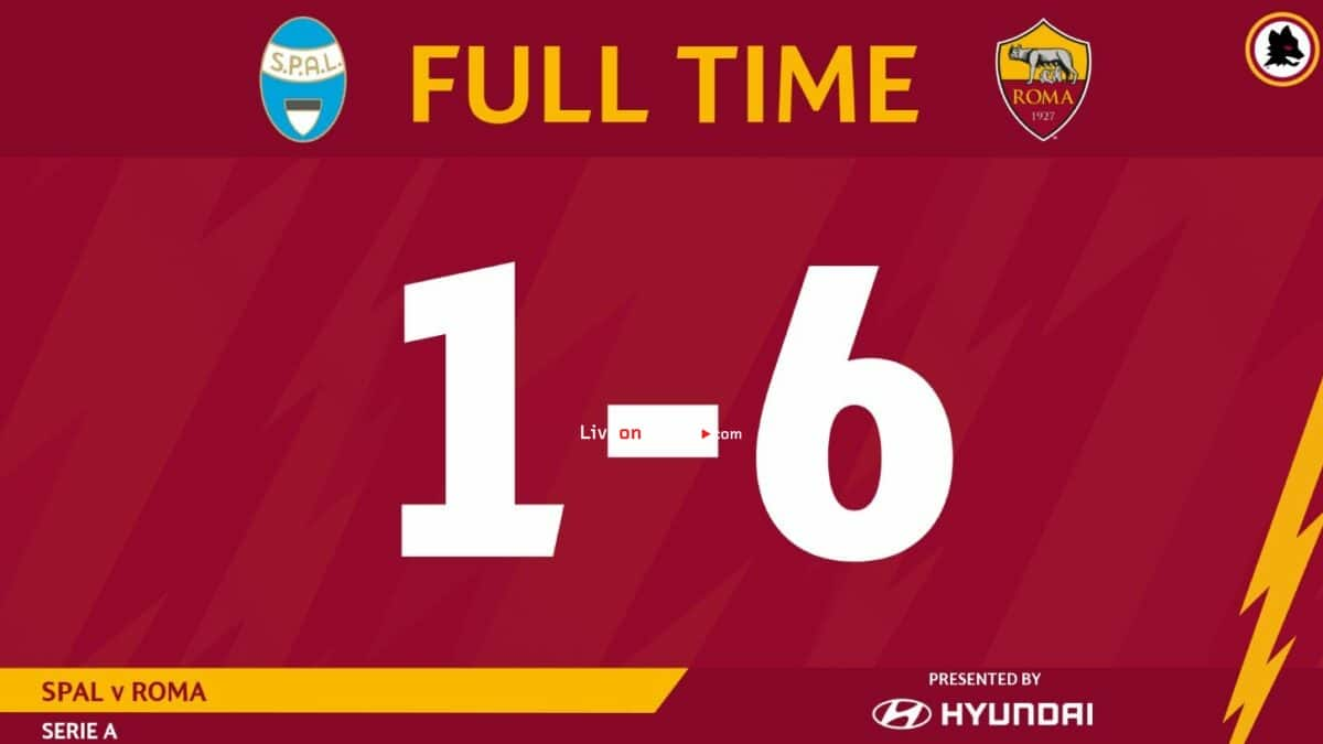 Spal 1-6 Roma Full Highlight Video – Serie Tim A