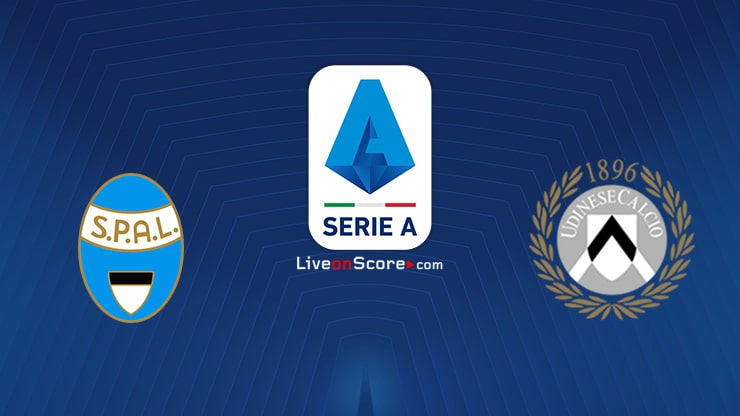 Spal vs Udinese Preview and Prediction Live stream Serie Tim A 2020