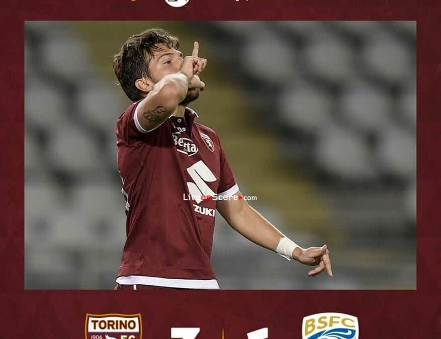 Torino 3-1 Brescia Full Highlight Video – Serie Tim A