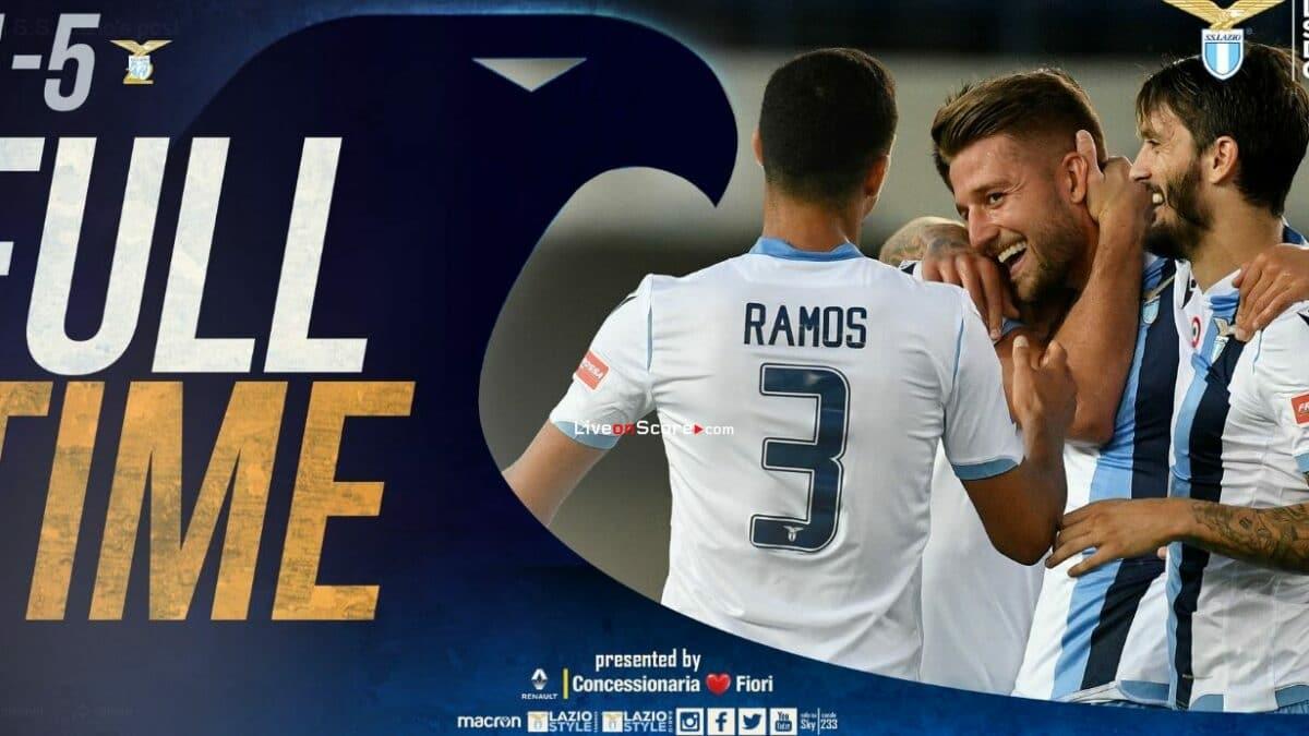 Verona 1-5 Lazio Full Highlight Video – Serie Tim A
