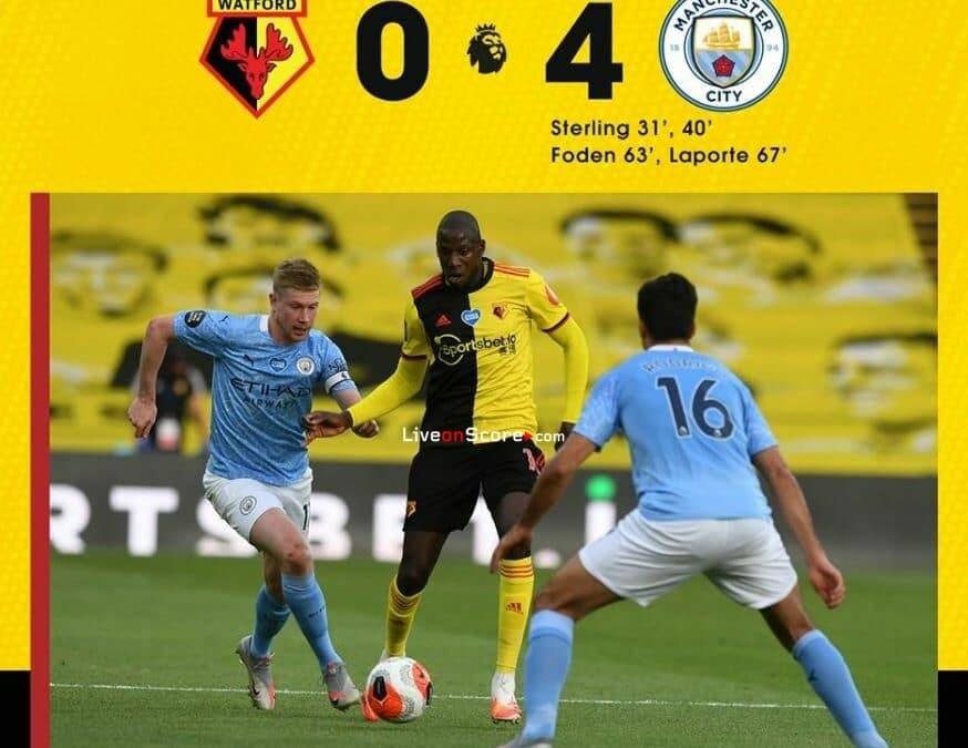 Watford 0-4 Manchester City Full Highlight Video – Premier League