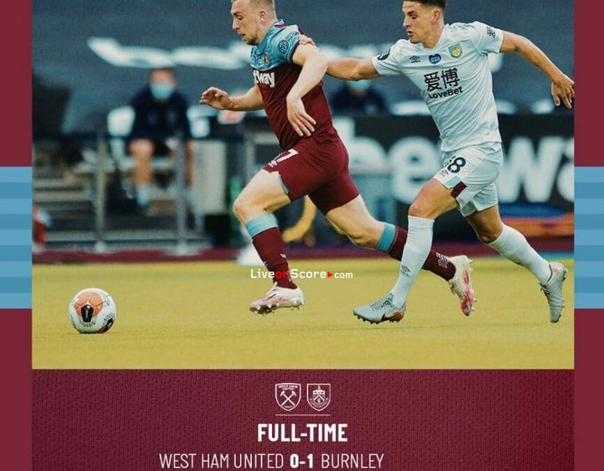 West Ham 0-1 Burnley Full Highlight Video – Premier League