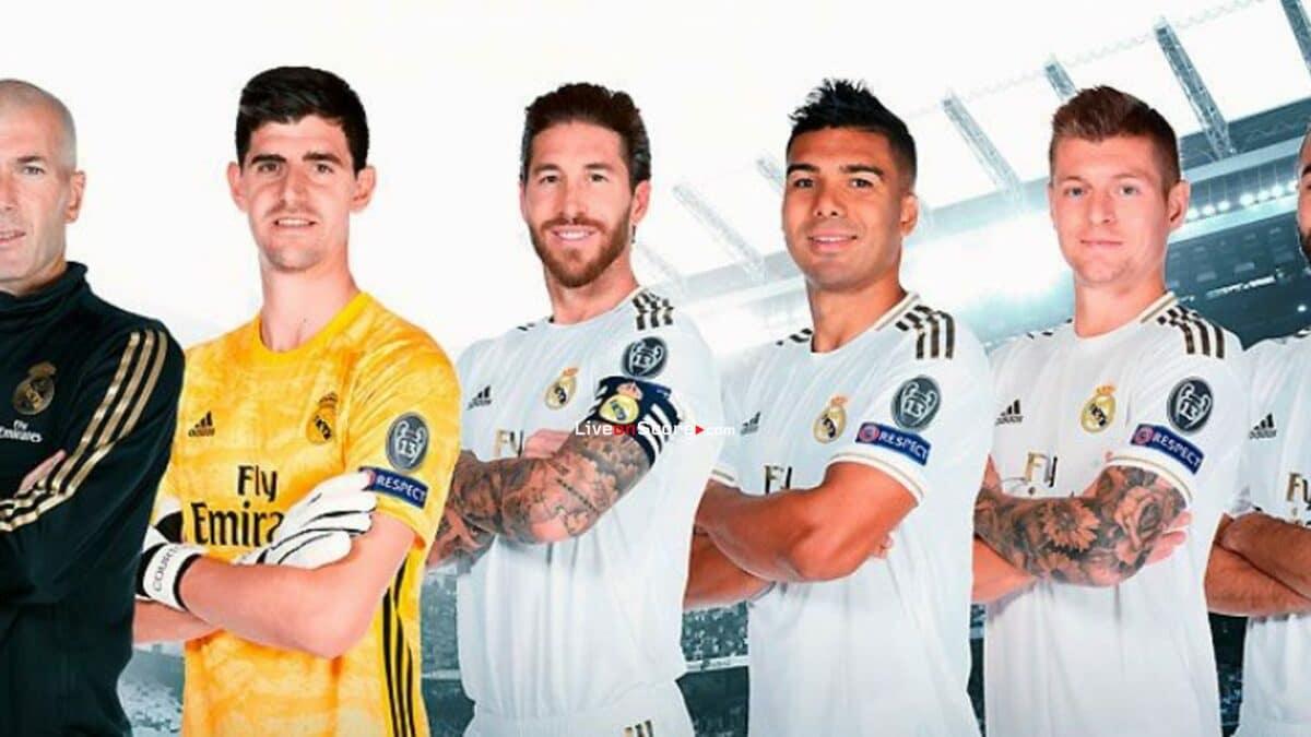 Cinco jugadores del Real Madrid y Zidane en el Equipo del Año de LaLiga