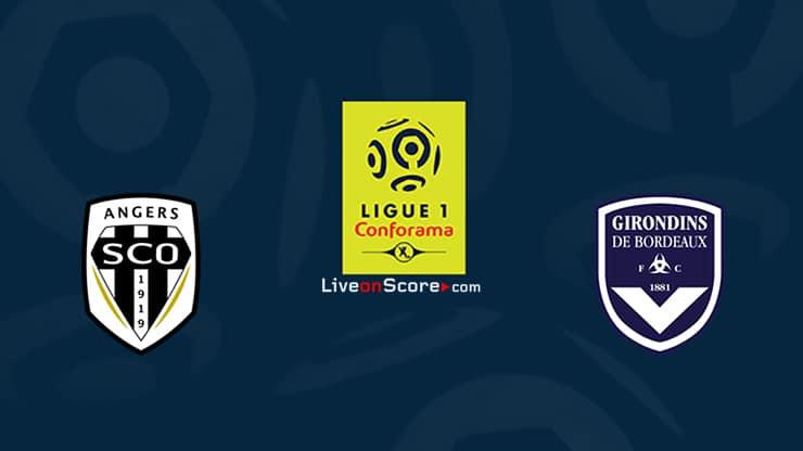 Angers vs Bordeaux Previa y Predicción Transmision en vivo Ligue 1 2020 / 21