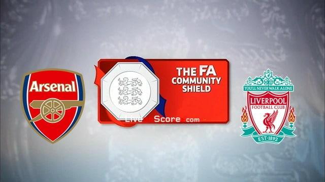Arsena vs Liverpool Preview and Prediction Live stream FA Community Shield Final