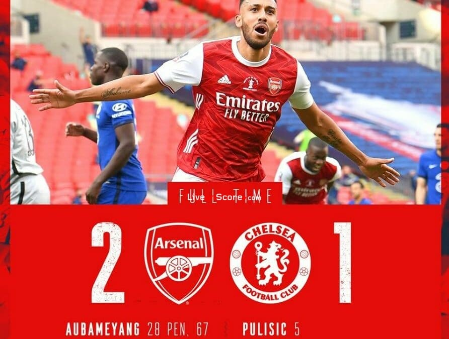 Arsenal 2-1 Chelsea Full Highlight Video – FA Cup