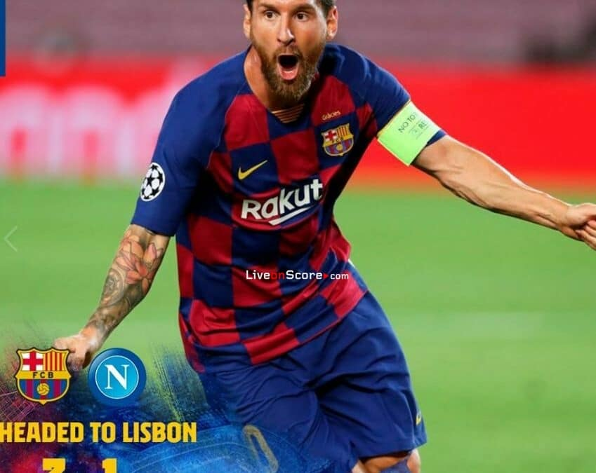 Barcelona 3-1 Napoli Full Highlight Video – UEFA Champions League