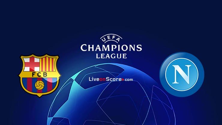 Barcelona vs Napoli Preview and Prediction Live stream UEFA Champions League 1/8 Finals  2020