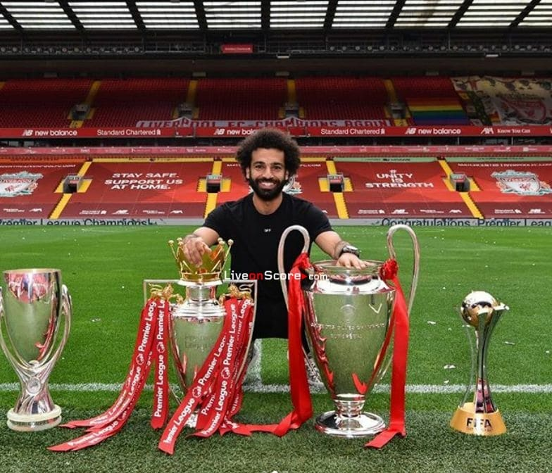 Mohamed Salah interview: 'I always said I wanted to win both – and now we have'