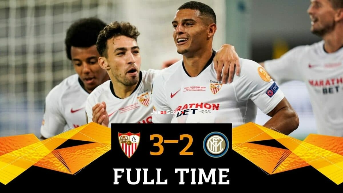 Sevilla 3-2 Inter Full Highlight Video – UEFA Europa League Final 2020