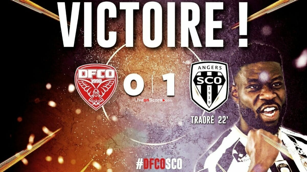 Dijon 0-1 Angers Full Highlight Video – France Ligue 1