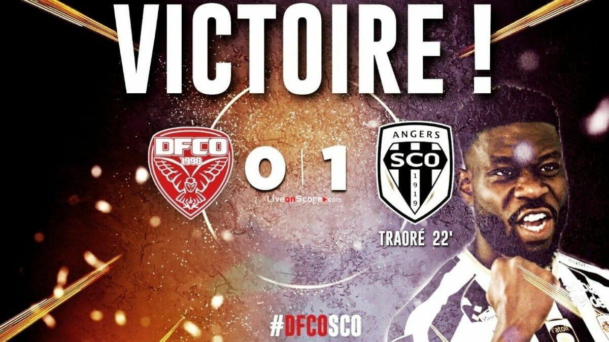 Dijon 0-1 Angers video completo destacado - France Ligue 1