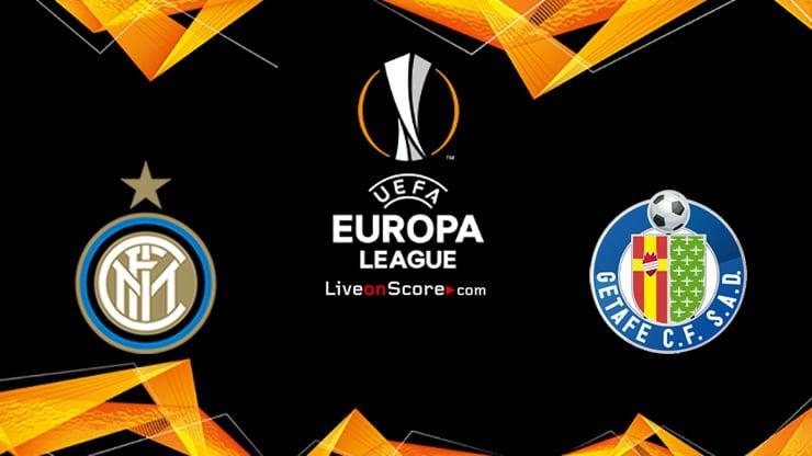 Inter vs Getafe Predicción y predicción Transmision en vivo UEFA Europa League 1/8 Final 2020