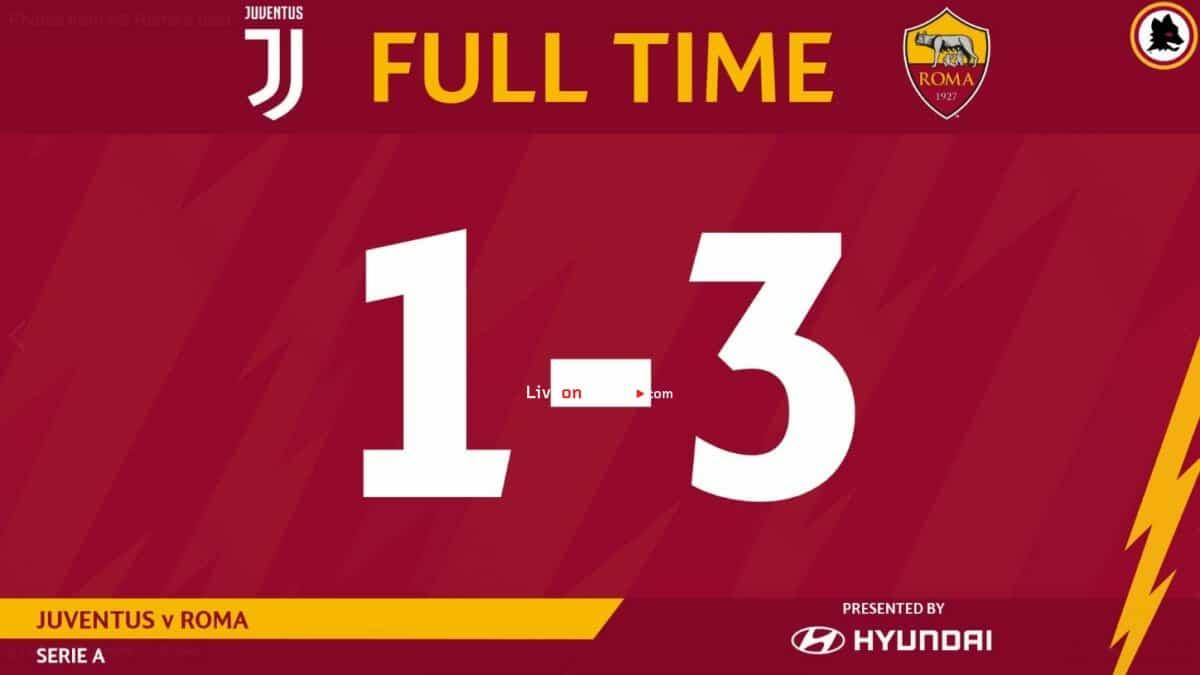 Juventus 1-3 AS Roma Full Highlight Video – Serie Tim A