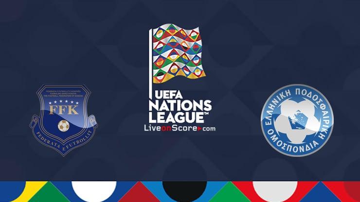 Kosovo vs Grecia Previo y predicción Transmision en vivo Uefa Nations League 2020