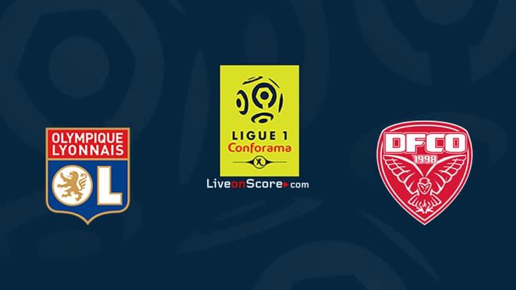 Lyon vs Dijon Prediccion y Pronostico Transmision en vivo Ligue 1 2020/21