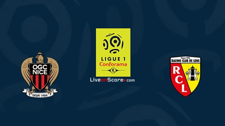 Nice vs Lens Previa, Predicciones y Pronostico Transmision en vivo Ligue 1 2020/21