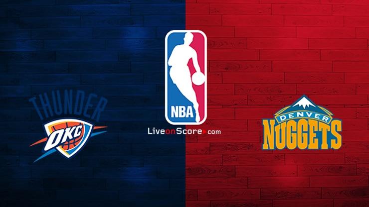 Oklahoma City Thunder vs Denver Nuggets Previa, Predicciones y Pronostico Transmision en vivo NBA 2020