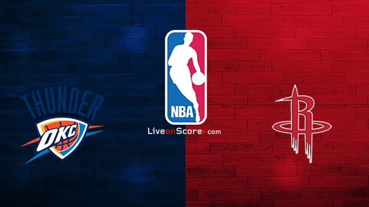 Oklahoma City Thunder vs Houston Rockets Preview and Prediction Live stream NBA Play Offs 1/8 Finals 2020