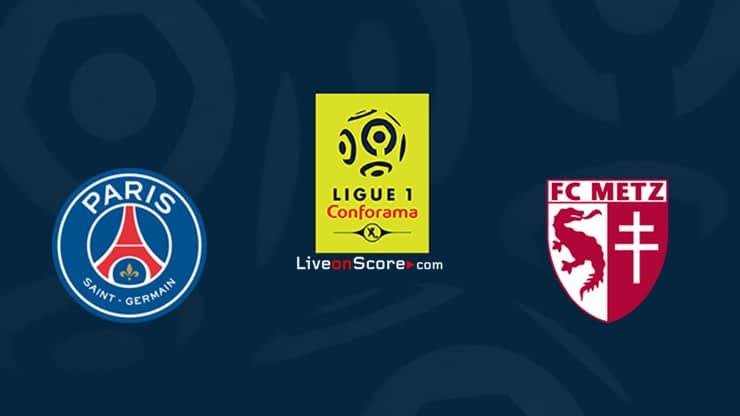 Paris SG vs Metz Preview and Prediction Live stream Ligue 1 2020/21