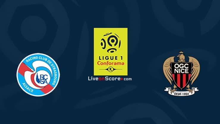 Strasbourg vs Nice Previsualización y predicción Transmision en vivo Ligue 1 2020 / 21