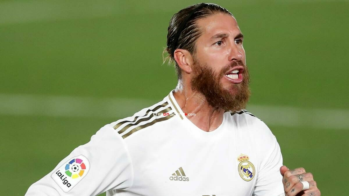 Sergio Ramos will travel to Manchester to lead the comeback