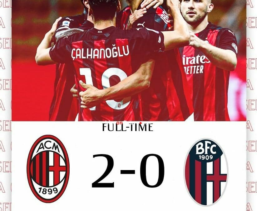 AC Milan 2-0 Bologna Full Highlight Video – Serie Tim A