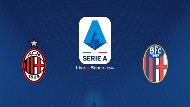 AC Milán vs Bolonia Previa y predicción Transmision en vivo Serie Tim A 2020/21