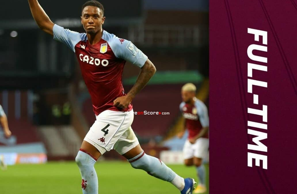 Aston Villa 1-0 Sheffield Utd Goles y resultado - Premier League