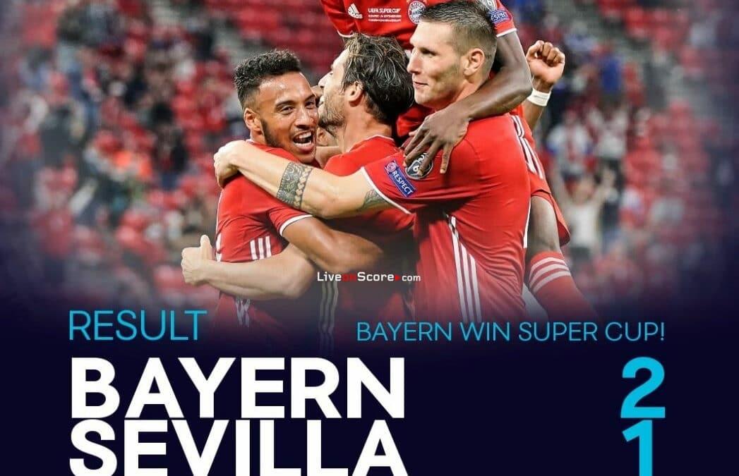 Bayern Munich 2-1 Sevilla Full Highlight Video – UEFA Super Cup