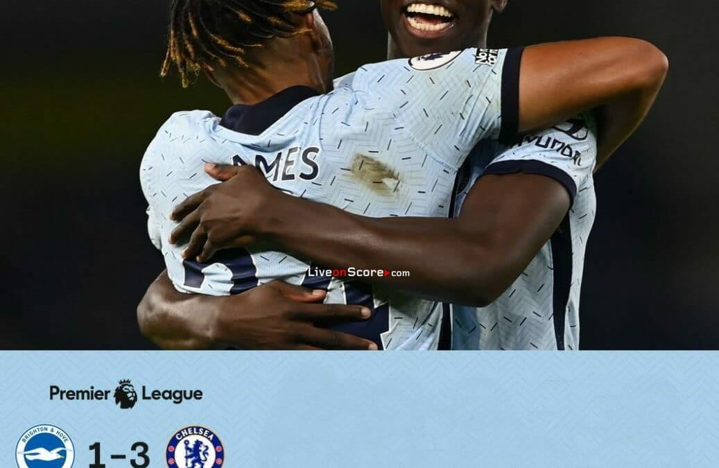 Brighton 1-3 Chelsea Full Highlight Video – Premier League